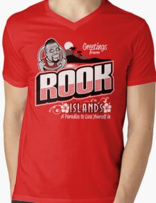 Greetings from Rook Islands Mens V-Neck T-Shirt