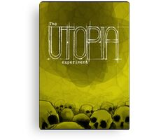 The Utopia Experiments Poster Canvas Print