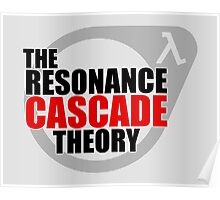 The Resonance Cascade Theory Poster