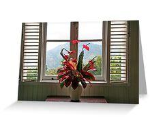 Jamaica Bouquet Greeting Card