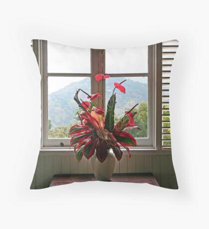 Jamaica Bouquet Throw Pillow