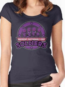 Obedient and Expendable Women's Fitted Scoop T-Shirt