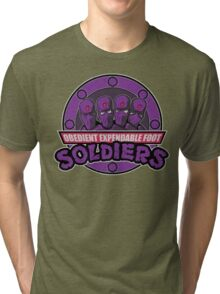 Obedient and Expendable Tri-blend T-Shirt