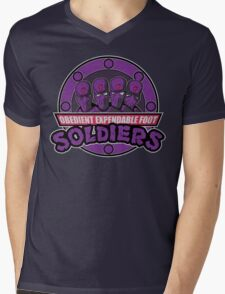 Obedient and Expendable Mens V-Neck T-Shirt