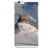 a fairy tale castle in the snow iPhone Case/Skin