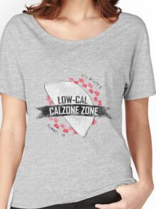 Ben Wyatt's Low-Cal Calzone Zone Women's Relaxed Fit T-Shirt