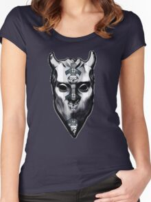 NAMELESS GHOUL - papa ii overlay Women's Fitted Scoop T-Shirt