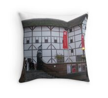 Globe Theatre - London, England Throw Pillow