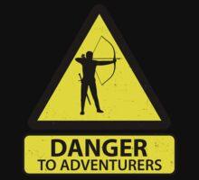 Danger to Adventurers Baby Tee