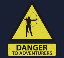 Danger to Adventurers Kids Tee