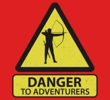 Danger to Adventurers One Piece - Short Sleeve