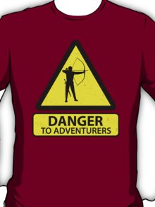 Danger to Adventurers T-Shirt