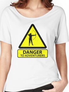 Danger to Adventurers Women's Relaxed Fit T-Shirt