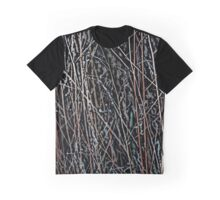 Multicolor Reeds at Twilight Graphic T-Shirt