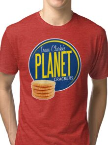 Isaac Clarke's Planet Crackers Tri-blend T-Shirt