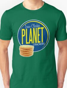 Isaac Clarke's Planet Crackers T-Shirt