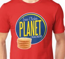 Isaac Clarke's Planet Crackers Unisex T-Shirt