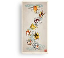 Fancy Magikarp Canvas Print