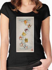 Fancy Magikarp Women's Fitted Scoop T-Shirt