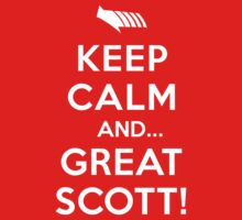 Keep Calm and... Great Scott! Kids Clothes
