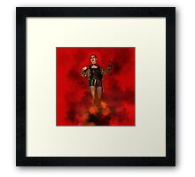 Columbia, RHPS Rocky Horror Picture Show Framed Print