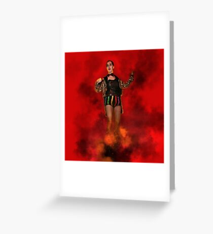 Columbia, RHPS Rocky Horror Picture Show Greeting Card
