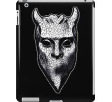 NAMELESS GHOUL - black cracks iPad Case/Skin