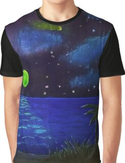 Sea By Night Graphic T-Shirt