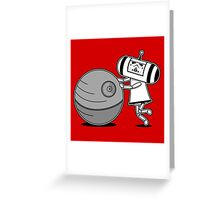 Katamari Trooper Greeting Card