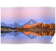 Oxbow Bend Autumn. Poster