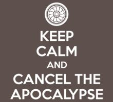 Keep Calm and Cancel the Apocalypse Kids Clothes