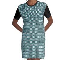 Jenna Coleman - Berlin Dress Print Graphic T-Shirt Dress