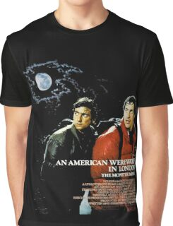 An American Werewolf Graphic T-Shirt