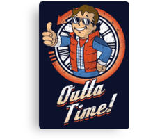 Outta Time Canvas Print