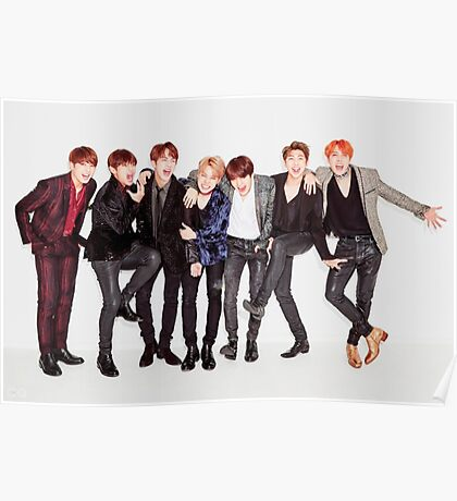 Bts Cute Poster Poster
