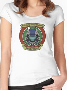 The Bullfrogs Insignia Women's Fitted Scoop T-Shirt