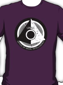 Halo Office of Naval Intelligence U.N.S.C. Logo T-Shirt