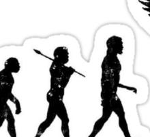 Homo Sapien Superior Worn Sticker
