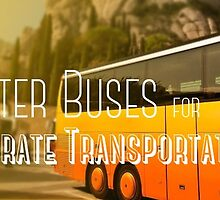Charter Buses for Corporate Transportation by busrentals09