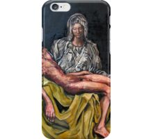 The Pieta #3 iPhone Case/Skin