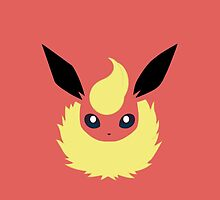 Flareon iphone case by Excels