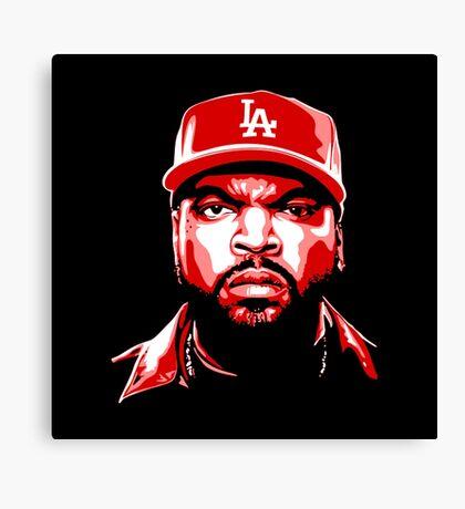 LA Cube Canvas Print