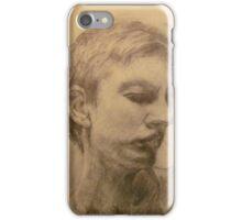 Esquisse for portrait of Clara #4 iPhone Case/Skin