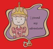 I Found My Adventurer - Princess Adventure Time One Piece - Short Sleeve