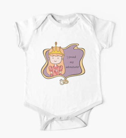 I Found My Adventurer - Princess Adventure Time One Piece - Short Sleeve