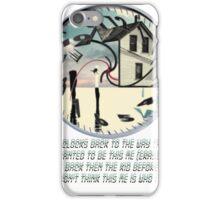 Coheed and Cambria- Eraser lyrics Design iPhone Case/Skin