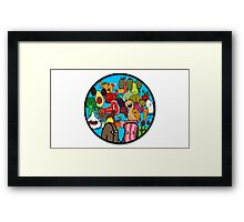 Circle of friends Framed Print