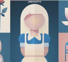 Alice in Wonderland Graphic Sticker