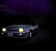 Night Nissan N13 EXA by SEZGFX