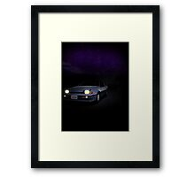 Night Nissan N13 EXA Framed Print